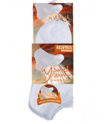 Pack 3 calcetines invisibles Ysabel Mora 12745